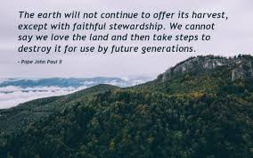 Pope John Paul Ii Quotes Awesome Pope John Paul II Quote The Earth Will Not Inspirational Quotes