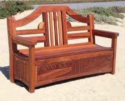 outdoor storage bench waterproof wood projects provides free novice to advanced woodworking and finishing plans garden