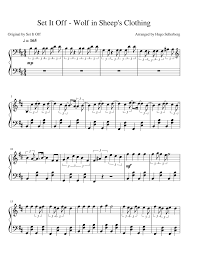 Dream Catcher Set It Off Lyrics UPDATE] Set It Off Wolf in Sheep's Clothing Sheet music for 99