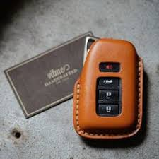 handmade leather key for lexus with name sting service thank you for your support