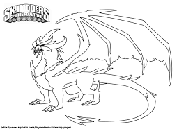 Skylanders Giants Coloring Pages Bratz Coloring