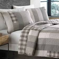 Size Queen Quilts & Bedspreads For Less | Overstock.com & Eddie Bauer Fairview Cotton Reversible 3-piece Quilt Set Adamdwight.com