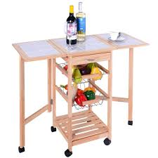 Kitchen Trolley Convenience Boutique Kitchen Trolley Cart Dining Storage Drawers
