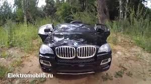 <b>BMW</b> X6 детский <b>электромобиль</b> - YouTube