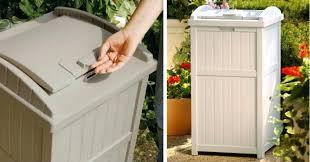 decorative outdoor trash cans outdoor decorative trash cans s c decorative outdoor