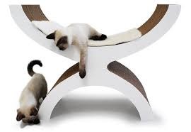 trendy cat furniture. kittypod u2013 designer cat furniture for harmonious living with your kitty trendy
