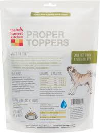The Honest Kitchen Proper Toppers GrainFree Chicken Recipe Dog - Honest kitchen dog food
