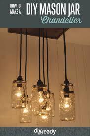 mason jar lamps diy chandelier likeness learn make a diy lighting 228906 large1586