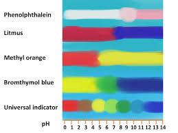 Bicarbonate Indicator Colour Chart Natural Indicators Bush Tucker Chemistry