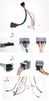 popular radio wiring harness buy cheap radio wiring harness lots car stereo radio iso wiring harness connector cable mainland