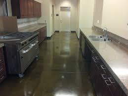 Industrial Kitchen Floor Stained Concrete Industrial Kitchenjpg