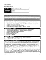 Pharma Quality Control Resume Sales Quality Control Lewesmr