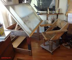 a drafting table made from an ikea coffee table drafting desks ikea