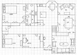 how to draw a floor plan. Charming How To Make A House Plan On Paper Gallery - Best . Draw Floor