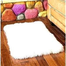 white fur carpet small white fur rug co pertaining to rugs ideas round small white