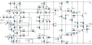 2800w high power amplifier circuit updated electronic circuit 2800w power amplifier cicuit diagram
