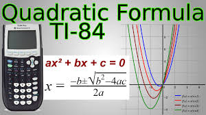 ti 84 quadratic formula program factoring works for complex imaginary solutions you