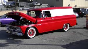 Custom Chevrolet Apache Panel Truck - YouTube