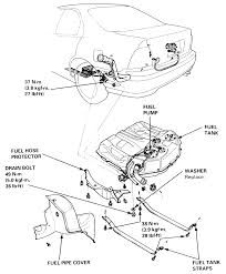 On 1995 honda accord i need to replaces fuel pump did i have to drop