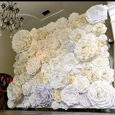 Paper Flower Backdrop Rental Backdrops Icadj Events