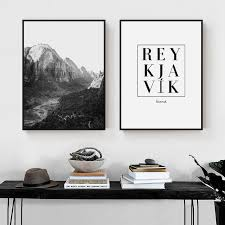 <b>ZeroC Posters And Prints</b> REYKJAVIK Iceland Wall Art Canvas ...