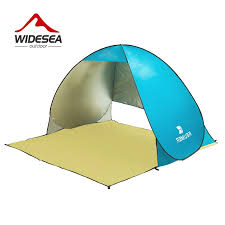 2018 KEUMER pop up open beach tent UV-protect gazebo waterproof quick shade canopy for outdoor fishing camping UV protect