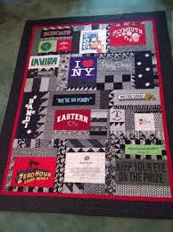 T Shirt Quilt Patterns Delectable TShirt Quilt Ideas 48 Tips For OutoftheBox TShirt Quilts