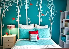 tree wall painting teen girl room. Turquoise Wall Paint Bedroom Walls Best Ideas On Colour Of House Living . Tree Painting Teen Girl Room
