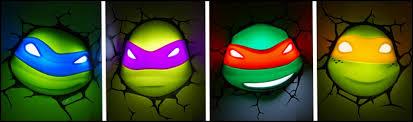 nickelodeon nightlight raphael target fight the darkness with 3dlightfx s line of teenage mutant ninja