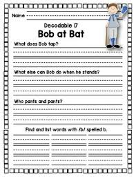 Worksheet will open in a new window. 1st Grade Open Court Reading Decodable Worksheets Units 1 12 Tpt