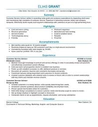Best Sales Customer Service Advisor Resume Example Livecareer