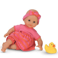 Baby Doll That Can Go in the Water in the Bathtub   Toy Reviews ...