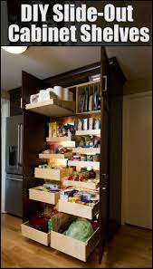 Diy Kitchen Pull Out Shelves 25 Best Ideas About Pull Out Shelves On Pinterest Installing