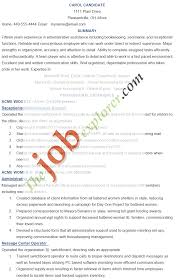 Library Assistant Job Description Resume Free Resume Example And