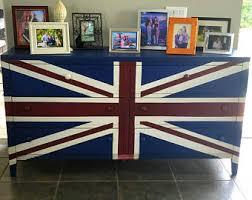 union jack furniture. Hand Painted Union Jack Dresser Furniture