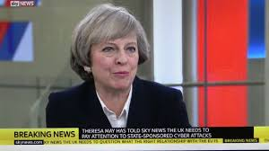 Theresa May on Donald Trump s grab them by the pussy comments.