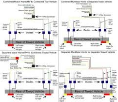 wiring diagrams for 4 diode flat towing tow bar wiring kit rm 154 trailer wiring harness adapter at Towing Wiring