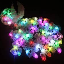 Online Shop 50pcs/lot White <b>LED</b> Balloon <b>Lights</b> for Paper Lantern ...