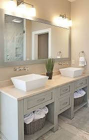 bathroom 72 inch double sink bathroom vanity large rectangular mirror without frame round white porcelain