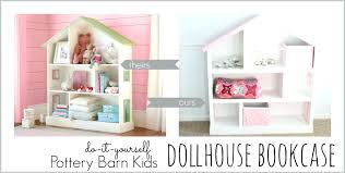 dollhouse bookcase foremost pottery barn price