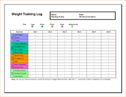 Weight Lifting Workout Chart New Weightlifting Chart Unique