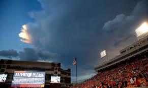 Osu Football Weather Delay Halts Kansas State Game