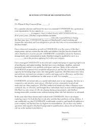 Professional Letters Recommendation Free Cover Letter Application