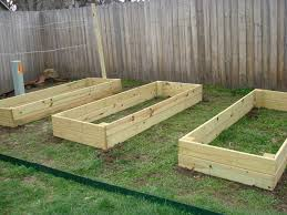 Raised Garden Bed Design Ideas Lumber Raised Garden Beds