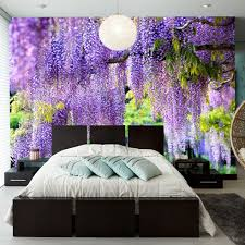 Purple Wallpaper Bedroom Popular Purple Wallpaper Bedroom Buy Cheap Purple Wallpaper
