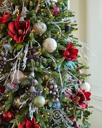 ... Silverado Slim Artificial Christmas Tree in-home by Balsam Hill