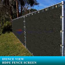 chain link fence privacy screen. Image Is Loading Ifenceview-4-039-x19-039-Black-Fence-Privacy- Chain Link Fence Privacy Screen N
