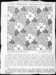 105 best Dogwood quilts images on Pinterest | Pinecone, Quilt ... & Click to close image, click and drag to move. Use arrow keys for next ·  Vintage Quilts PatternsApplique ... Adamdwight.com