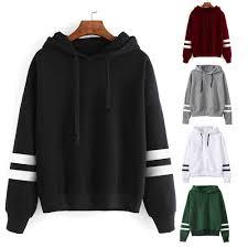 Cheap Designer Hoodies 2017 Autumn Stylish Design Long Sleeve Women Hoodies Sweatshirts Hooded Female Jumper Womens Tracksuit Warm Pullover Top Jacket