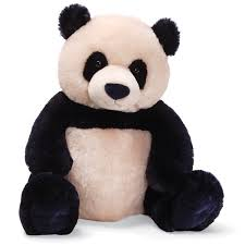 gund zibo panda teddy bear stuffed animal five stars in my